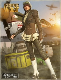 DAZ_Steampunk-AviatorV4