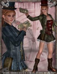 DAZ_Steampunk-LadyBlazeV4
