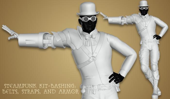 steampunk_kitbash_belts-straps-armor