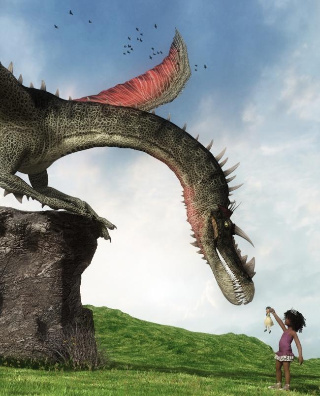 princess-vs-the-dragon