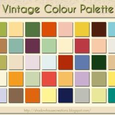 VintageColourPalette