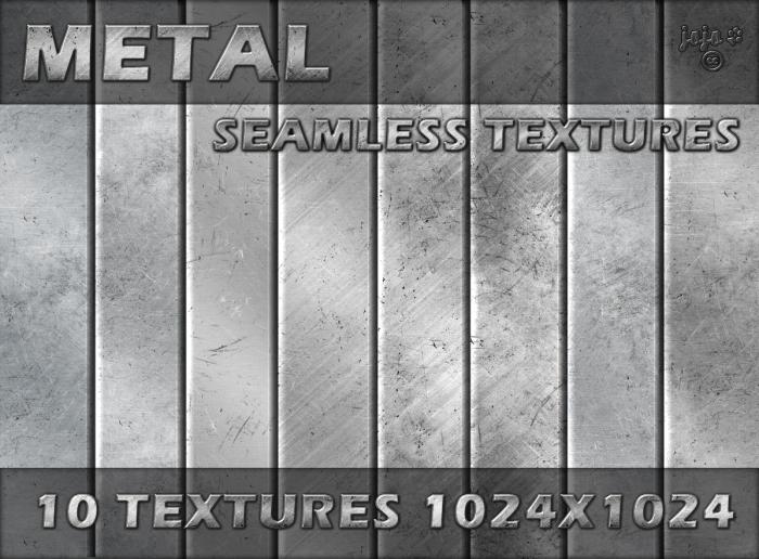 !Metal seamless textures