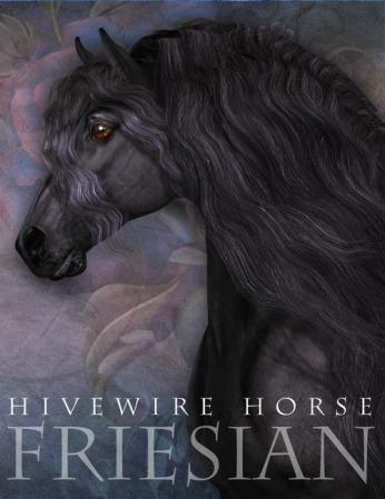 Textures_HW Horse Friesian 01